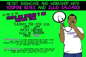 Artist Chowcase Flyer